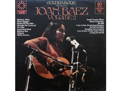joan baez volume 2 golden hour
