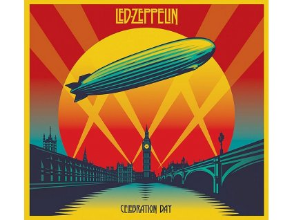led zeppelin celebration day 2 cd 1 blue ray
