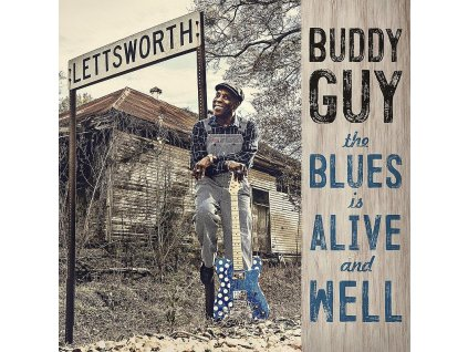 buddy guy blues alive well 2lp