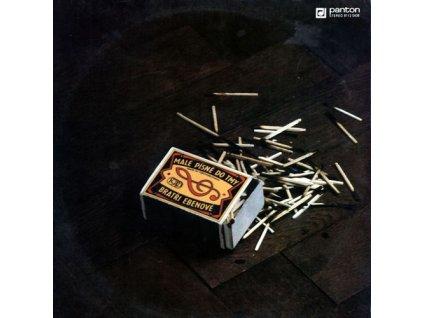 BRATŘI EBENOVÉ - Malé písně do tmy - CD