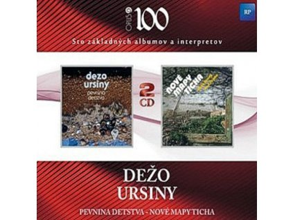 URSINY DEŽO - Pevnina detstva / Nové mapy ticha - 2CD
