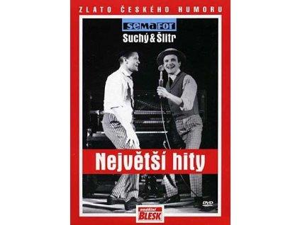 DIVADLO SEMAFOR - Největší hity semaforu 1. (Suchý & Šlitr) - DVD