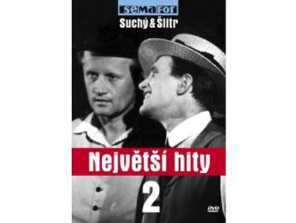 DIVADLO SEMAFOR - Největší hity semaforu 2. (Suchý & Šlitr) - DVD