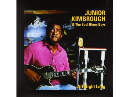 KIMBROUGH JUNIOR & THE SOUL BLUES BOYS - All Night Long - CD