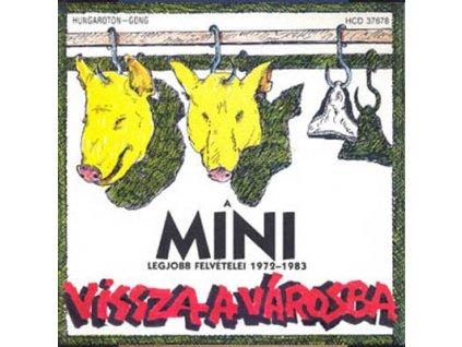MINI - Vissza a városba - CD