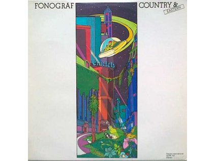 FONOGRÁF: Country and Eastern - LP / BAZAR