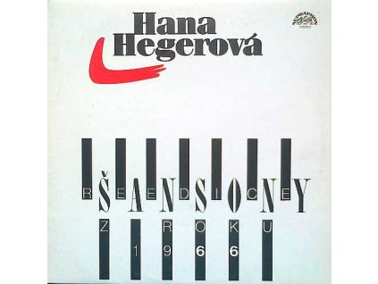 HEGEROVÁ HANA - Šansony (Reedice z roku 1966) - LP / BAZAR
