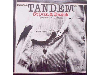 STIVÍN & DAŠEK SYSTEM TANDEM: Koncert v Lublani - LP / BAZAR