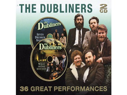 DUBLINERS - 36 Great Performances - 2CD