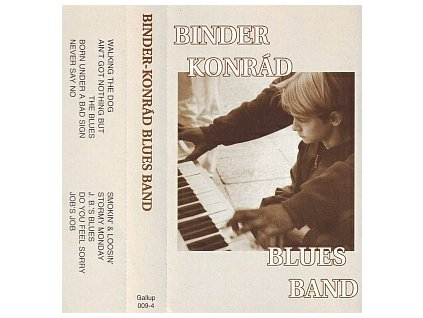 BINDER KONRÁD BLUES BAND - Live - MC