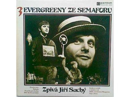 SUCHÝ JIŘÍ: Evergreeny ze Semaforu 3 - LP / BAZAR