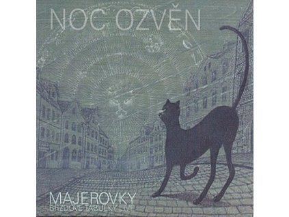MAJEROVY BRZDOVÉ TABULKY - Noc ozvěn - CD