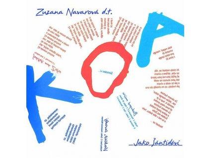 NAVAROVÁ ZUZANA & KOA - Jako Šántidéví   - CD