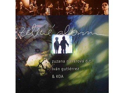 NAVAROVÁ ZUZANA & KOA & IVAN GUTIÉRREZ - Zelené album - CD