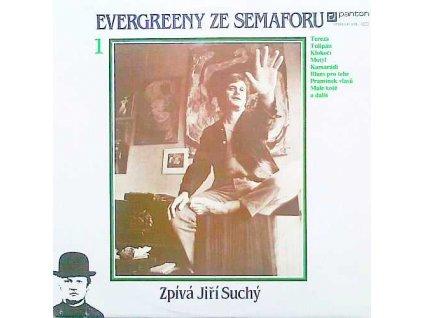SUCHÝ JIŘÍ: Evergreeny ze Semaforu 1 - LP / BAZAR