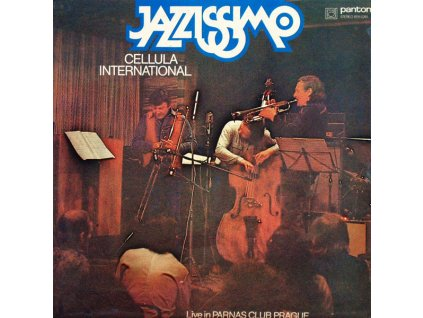 DECZI LACO & CELLULA INTERNATIONAL - Jazzissimo - CD
