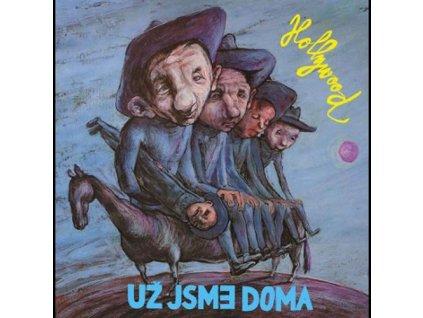 UŽ JSME DOMA - Hollywood - CD
