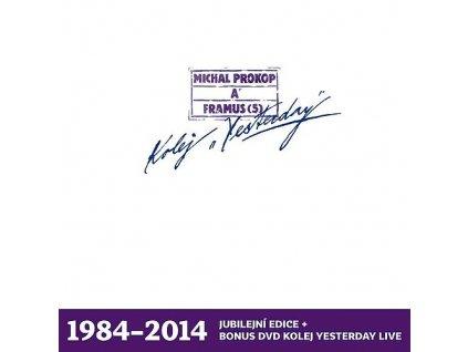 PROKOP MICHAL A FRAMUS 5 - Kolej Yesterday - LP+DVD