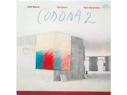 DON CHERRY/ COLLIN WALCOTT / NANA VASCONCELOS: Codona 2 - LP / BAZAR