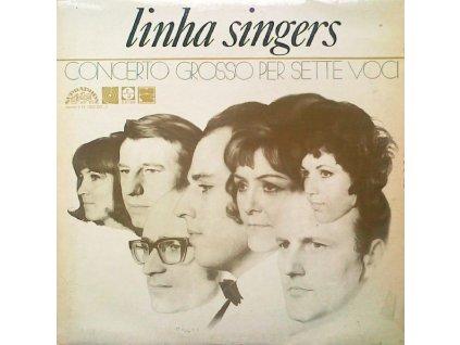LINHA SINGERS: Concerto Grosso Per Sette Voci - LP / BAZAR