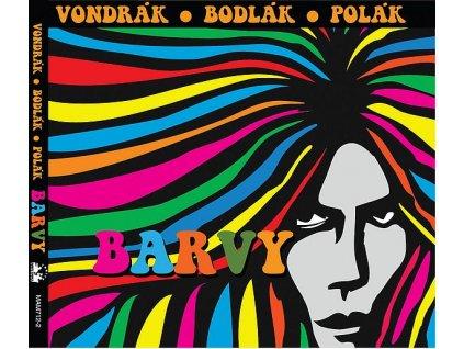 VONDRÁK, BODLÁK, POLÁK - Barvy - CD