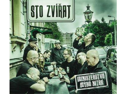 STO ZVÍŘAT - Ministerstvo mýho nitra - CD