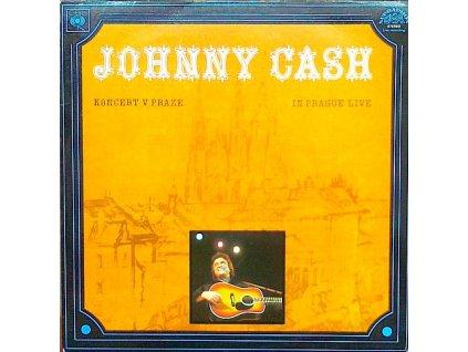 CASH JOHNNY: Koncert v Praze / In Prague Live - LP / BAZAR