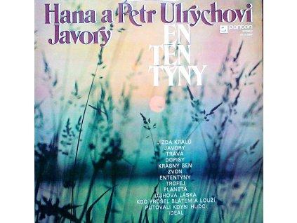 ULRYCHOVI HANA A PETR - Ententýny - LP / BAZAR