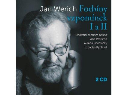 WERICH JAN - Forbíny vzpomínek I a II - 2CD