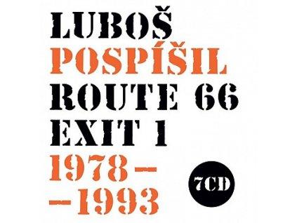 POSPÍŠIL LUBOŠ - ROUTE 66, Exit 1 1978-1993 - 7CD