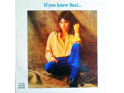 QUATRO SUZI - If you knew Suzi... - LP / BAZAR