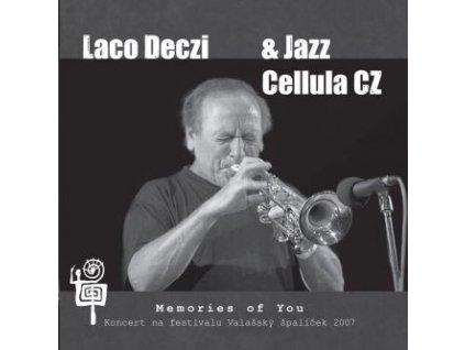 DECZI LACO & JAZZ CELLULA CZ - Memories of You - CD