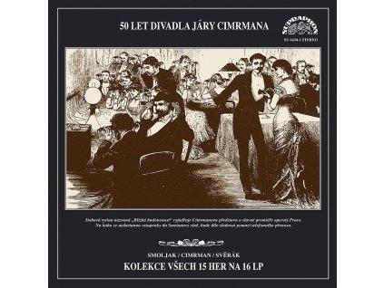 Smoljak CIMRMAN Svěrák - 50 LET DIVADLA JÁRY CIMRMANA - 16 LP
