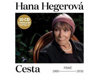 HEGEROVÁ HANA - Cesta - 10 CD box