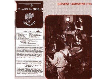 ELEKTROBUS - Nedefinitivní - CD