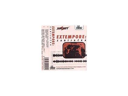 EXTEMPORE - Zabijačka + Punkové písničky - MC