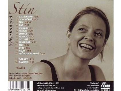 KROBOVÁ SYLVIE - Stín - CD