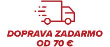 Doprava zadarmo od 70€