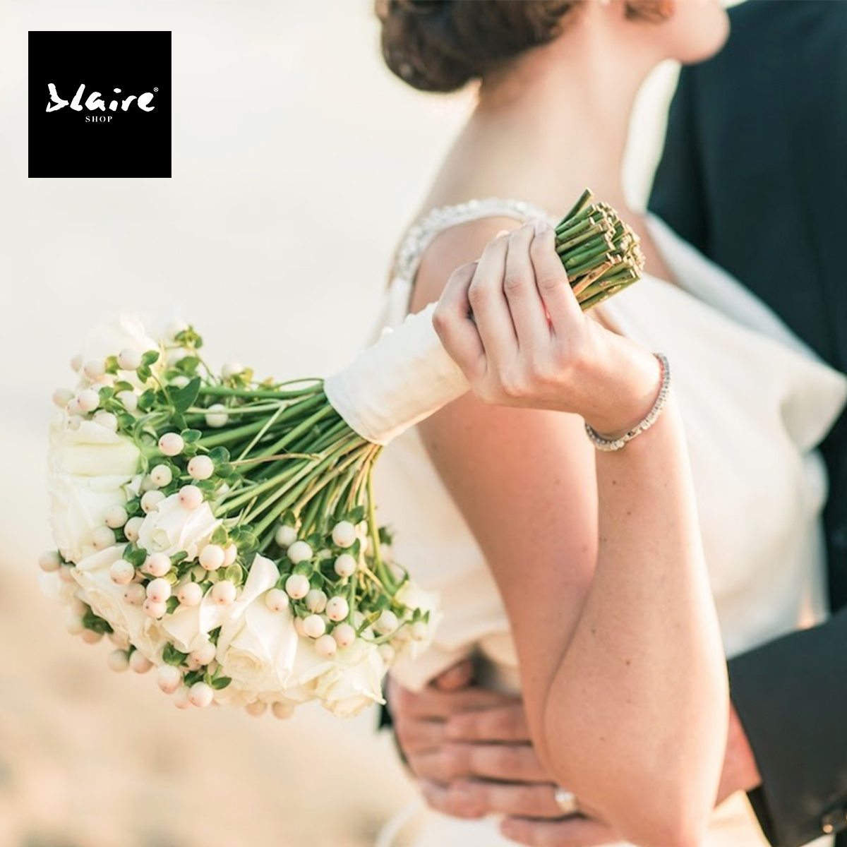 S Blaire na svatbu