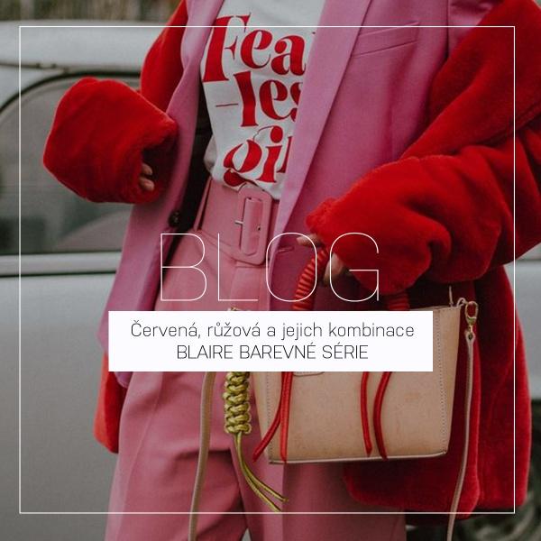 Červená, růžová a jejich kombinace | BLAIRE BAREVNÉ SÉRIE