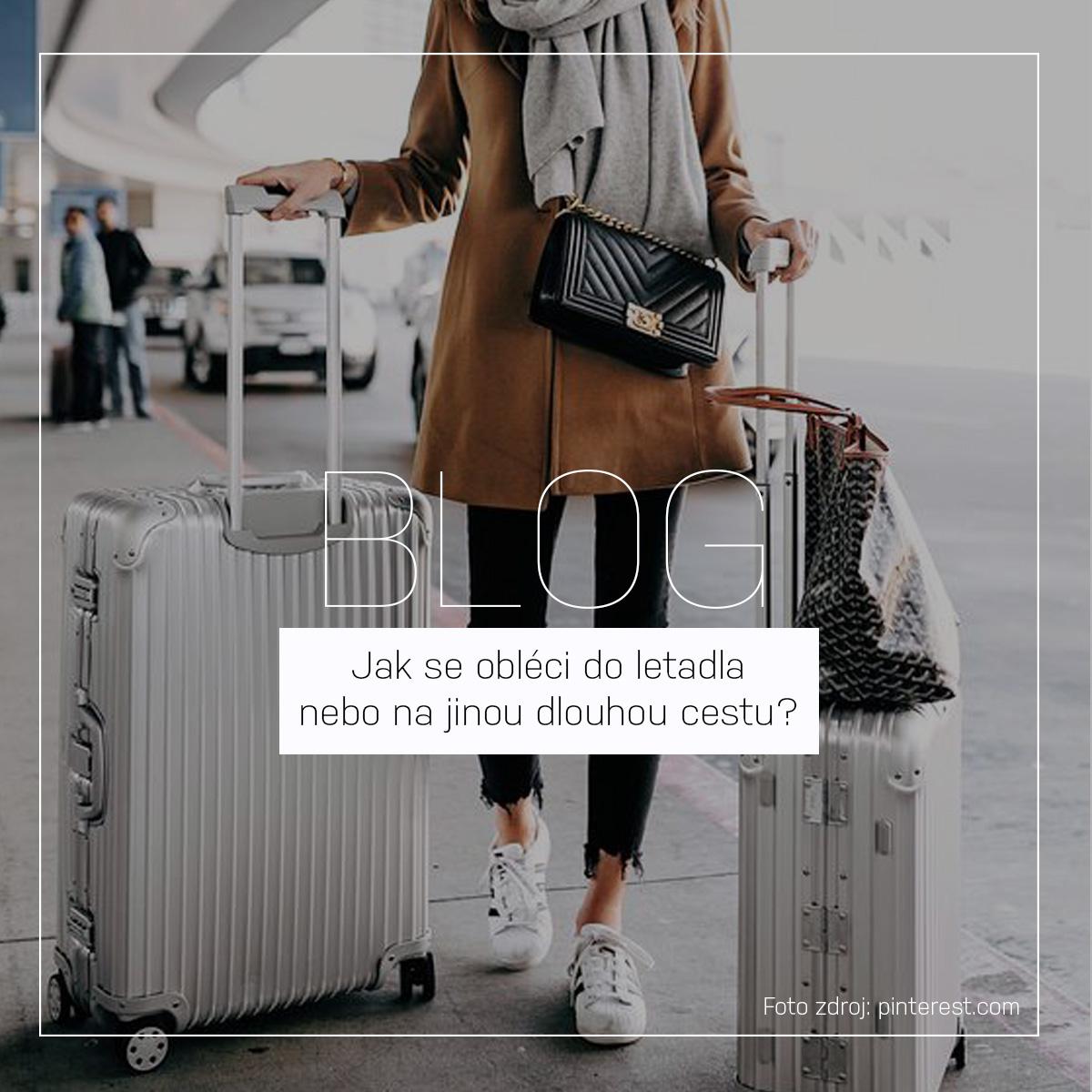 Jak se obléci do letadla, autobusu a na jinou dlouhou cestu? | Outfity, kabelky a cestovní tašky