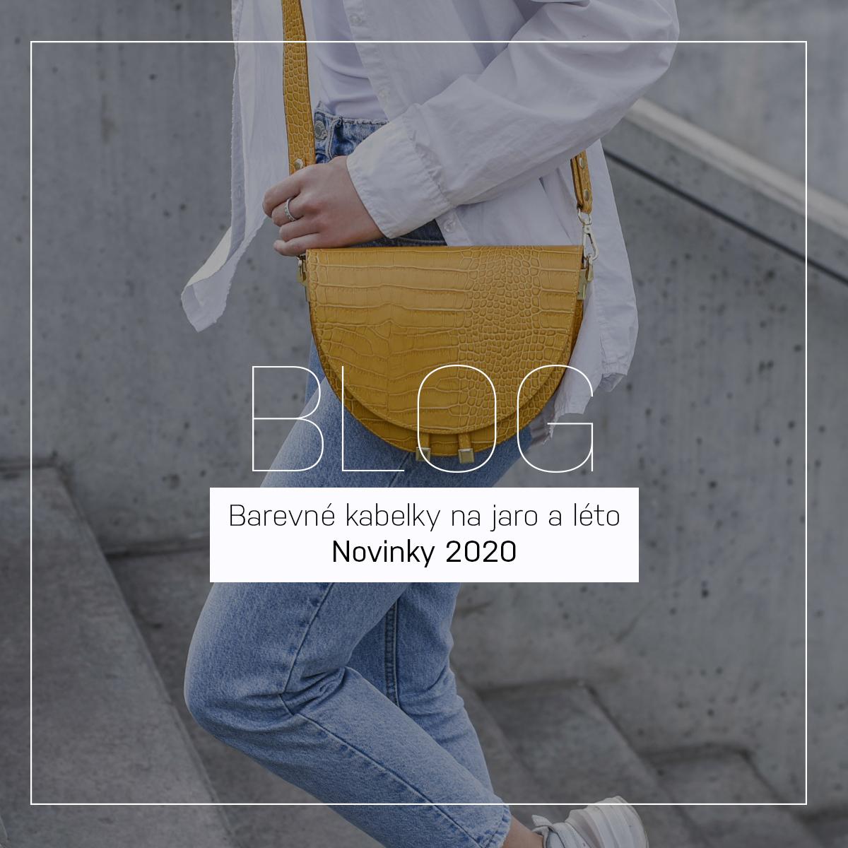 Barevné kabelky na jaro a léto | Novinky 2020