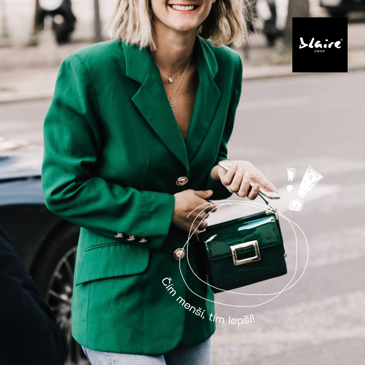 BLAIRE trend tip: Módní blogerky milují mini kabelky!