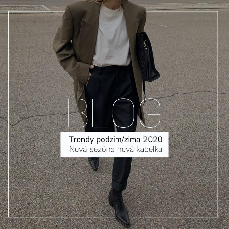 Trendy podzim/zima 2020   Nová sezóna nová kabelka