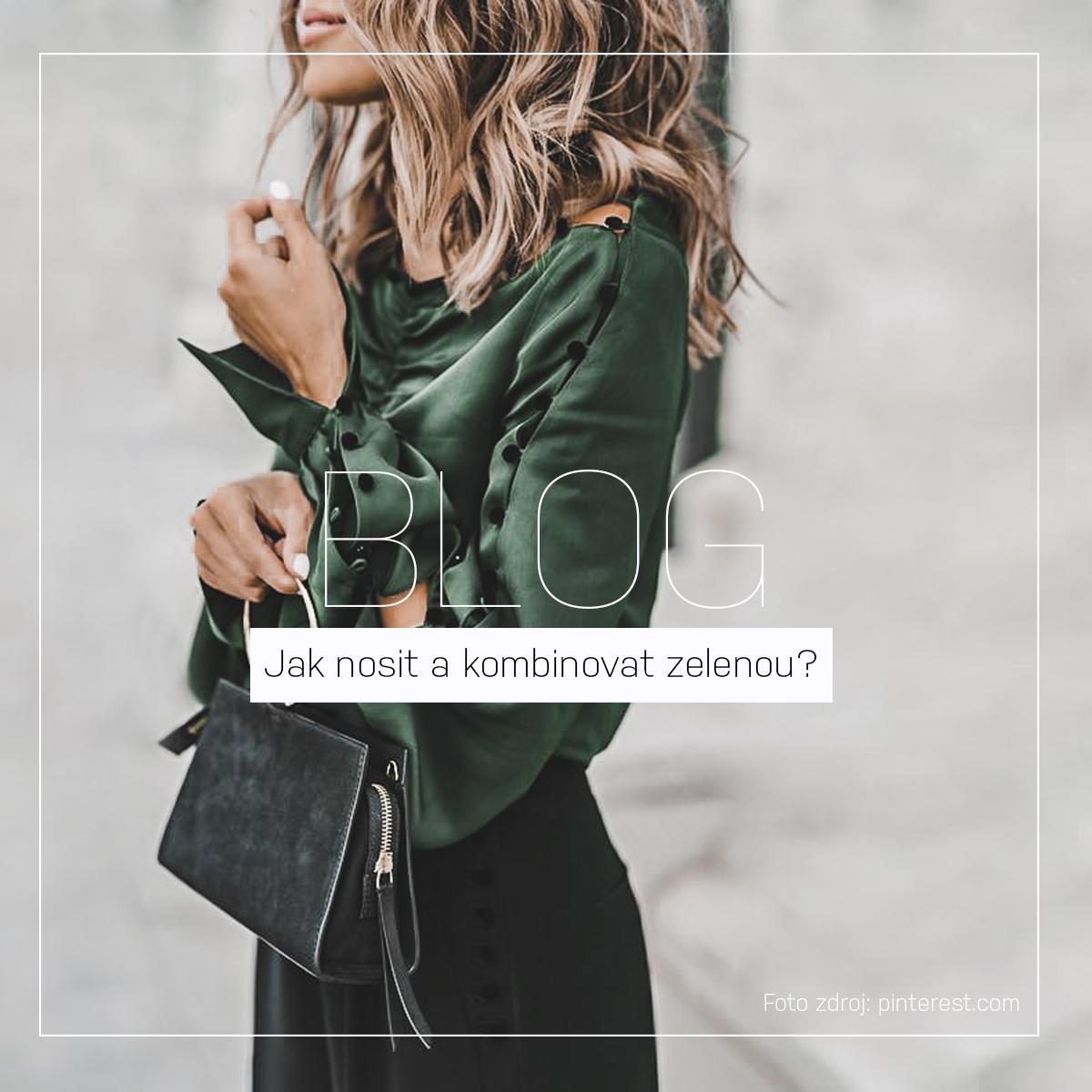 Září ve znamení zelené! Jak nosit a kombinovat zelenou? | BLAIRE BAREVNÉ SÉRIE