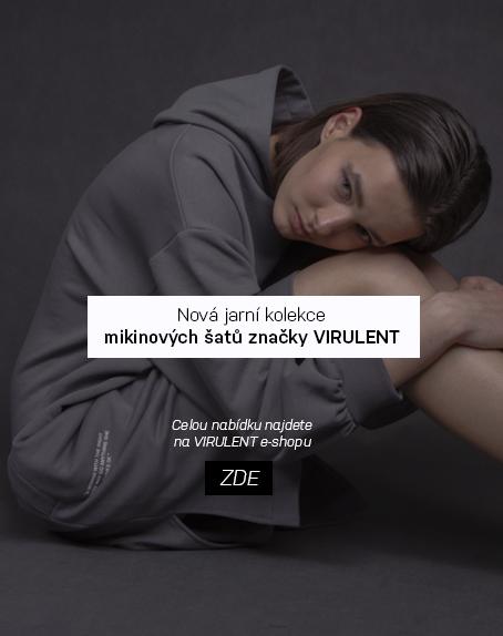 Nová kolekce mikinových šatů značky VIRULENT