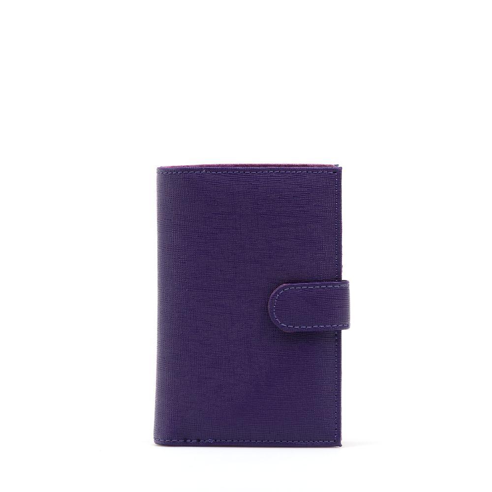 Fialové peněženky
