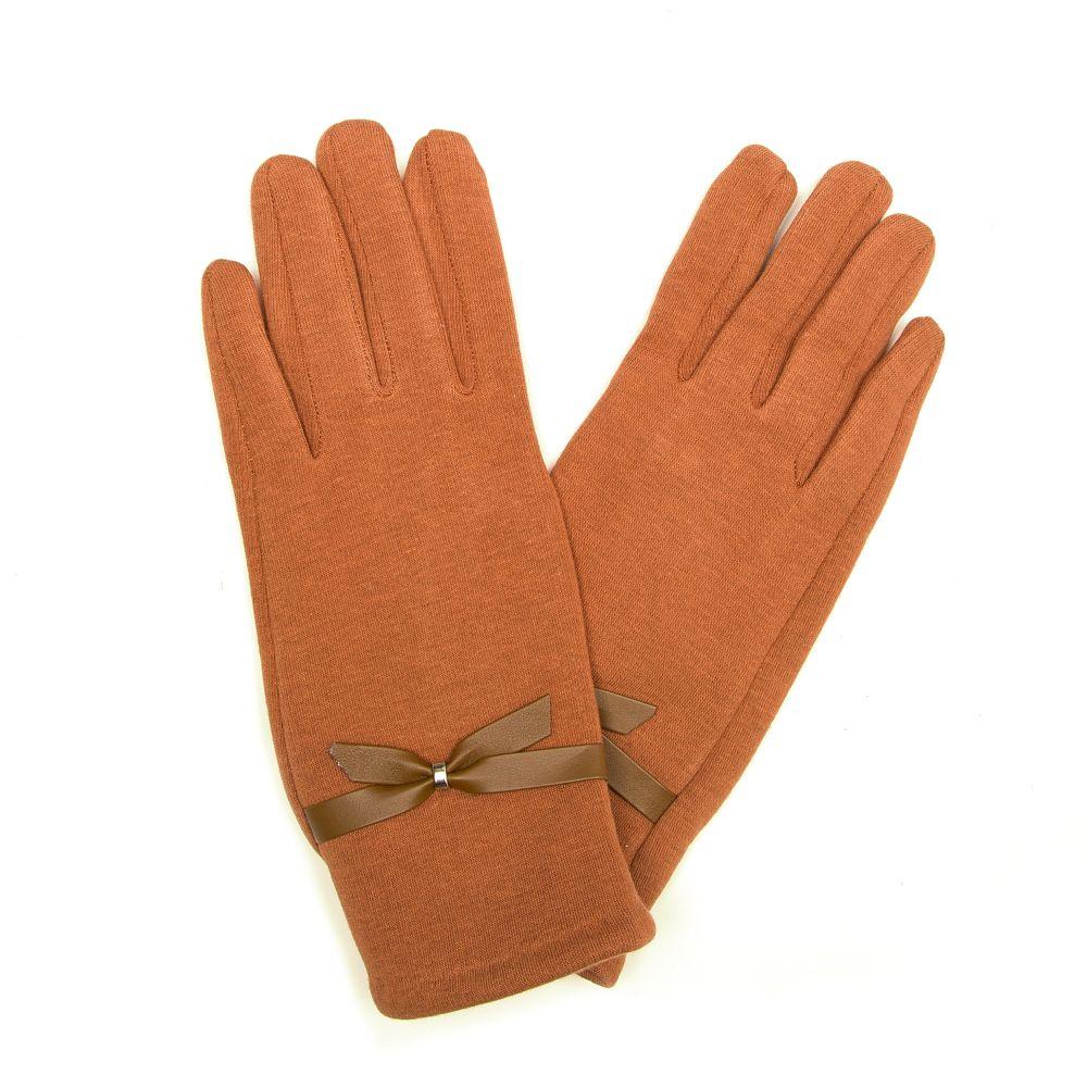 Hnědé rukavice