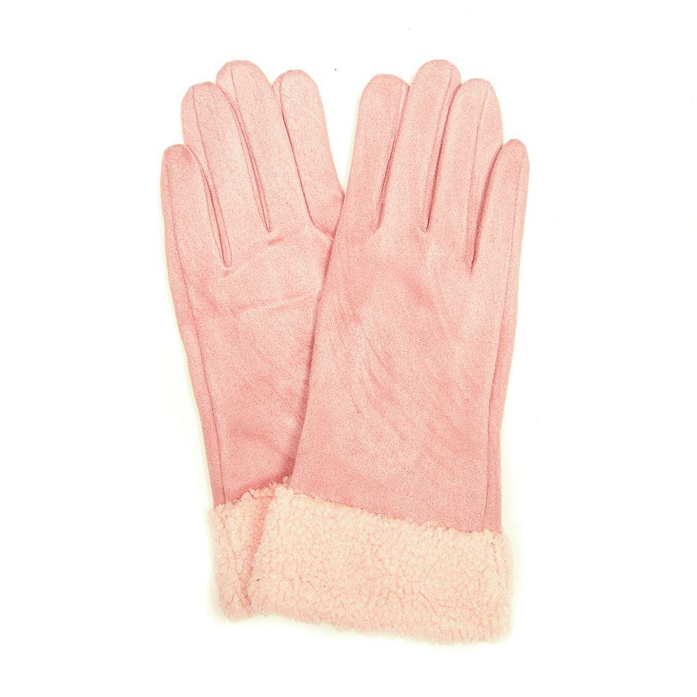 Růžové rukavice