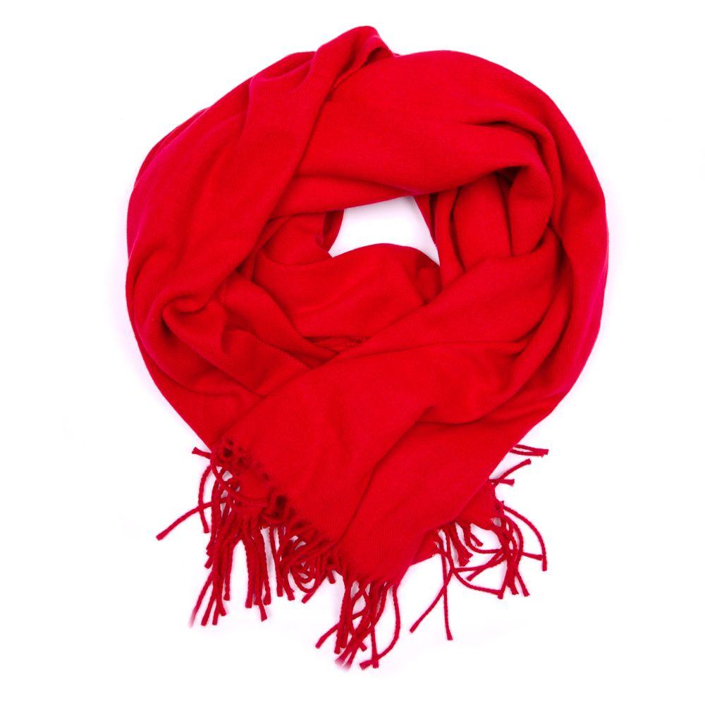 Červené šály